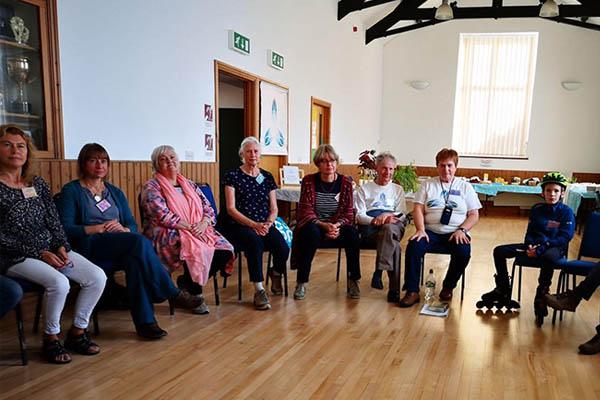Szeretet Fénye nemzetközi jelenlét Walesi találkozó